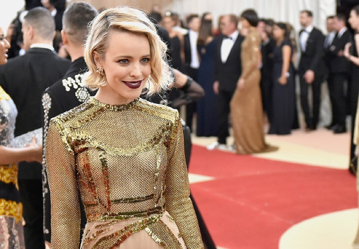 "NEW YORK, NY - MAY 02: Rachel McAdams attends the ""Manus x Machina: Fashion In An Age Of Technology"" Costume Institute Gala at Metropolitan Museum of Art on May 2, 2016 in New York City. (Photo by Mike Coppola/Getty Images for People.com)"