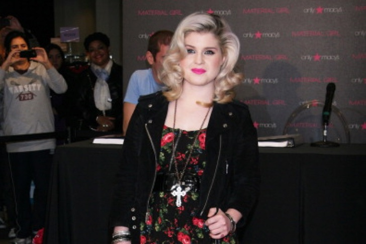 """LOS ANGELES, CA - NOVEMBER 19: TV personality Kelly Osbourne attends the material girl """"Lucky Stars"""" model search With Macy's at The Beverly Center on November 19, 2011 in Los Angeles, California. (Photo by Tommaso Boddi/WireImage)"""