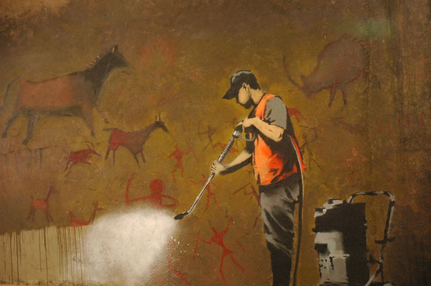 banksy-graffiti-street-art-cave-painting