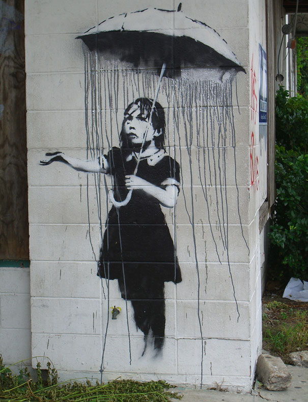 banksy-graffiti-street-art-girl-with-umbrella