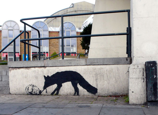 banksy-graffiti-street-art-kentuckyfox