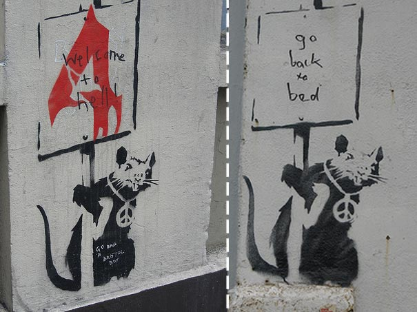 banksy-graffiti-street-art-rat-sign