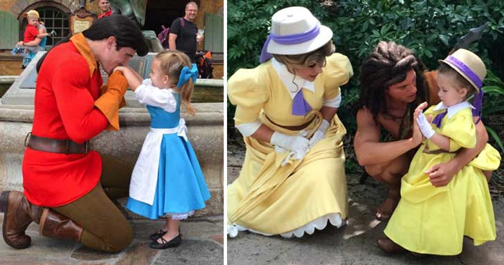 Los disfraces de esta niña causan furor en Disney World ...