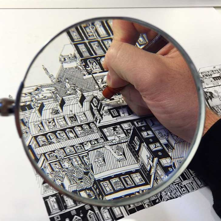 It-Takes-Me-Over-150-Hours-To-Draw-These-Intricate-Cityscape4__880