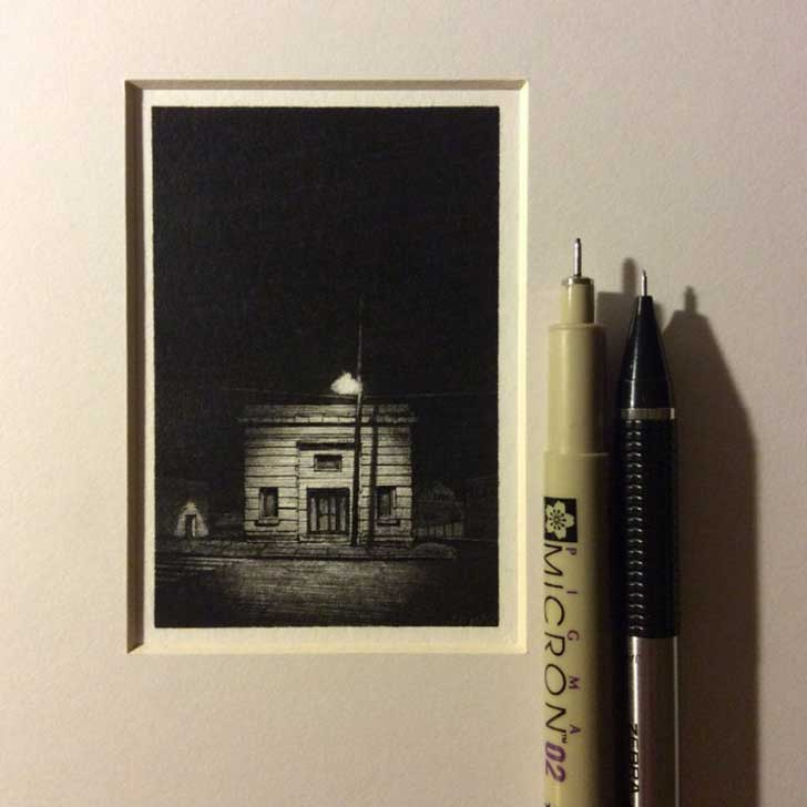 Tiny-Drawings-by-Taylor-Mazer_1-640x640