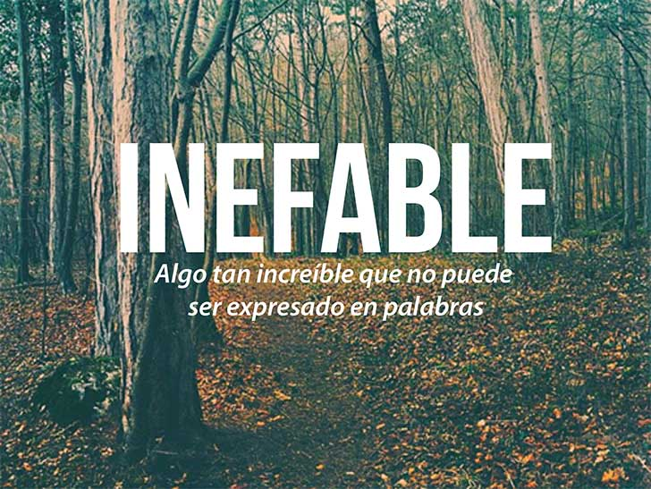 inefable