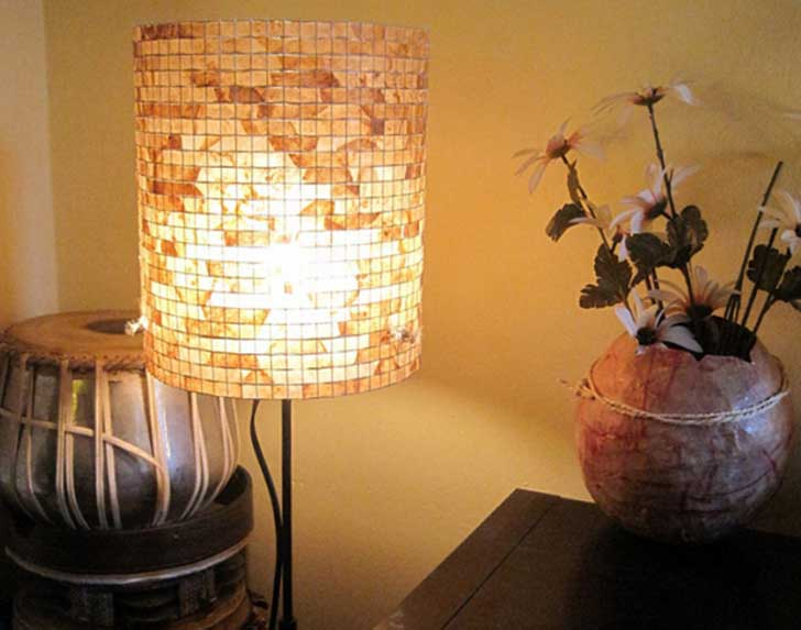 coffee-filter-lampshade