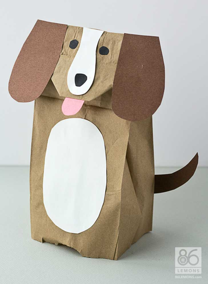 5 entretenidas ideas de t teres para que hagas t mismo for Brown paper bag crafts for preschoolers