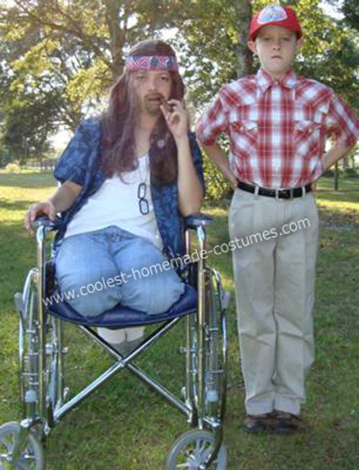 coolest-homemade-forrest-gump-and-lt-dan-couple-halloween-costume-2-21420494