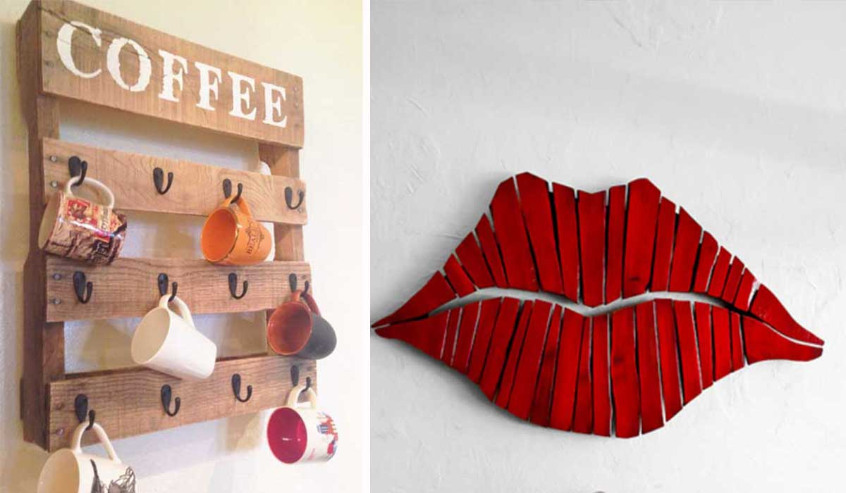 Ideas hogar reciclaje for Como decorar tu pared