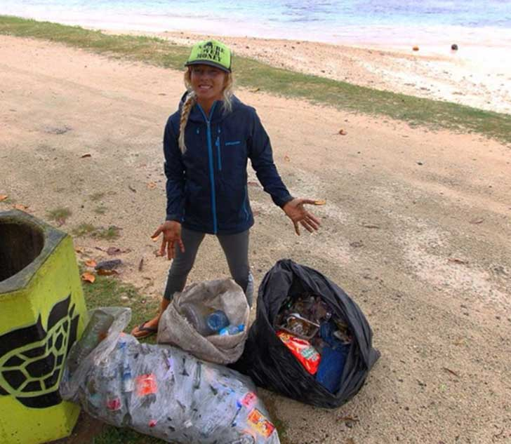 liz-clark-beach-cleanup