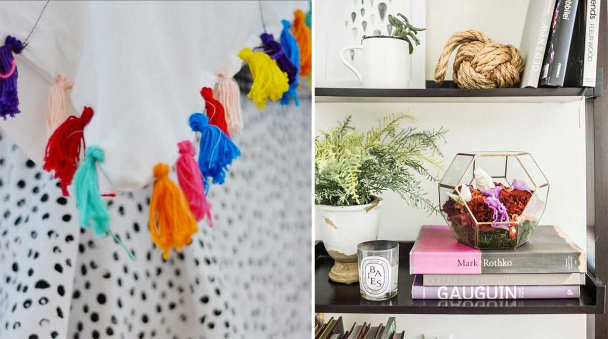 17 ideas sencillas para darle un toque hippie chic a tu for Decoracion casa hippie