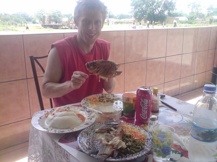 garfors-enjoyed-a-typical-seafood-meal-while-in-zambia