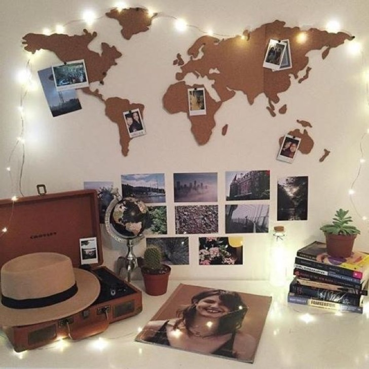 IDEAS: Decora la pared de tu cuarto con ingenio | Goplaceit