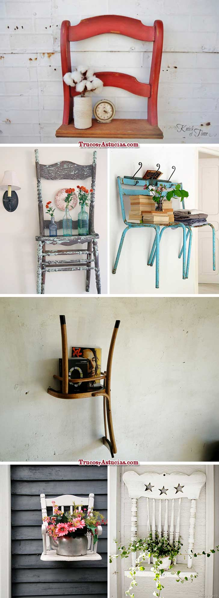 Muebles reciclados y originales on pinterest ideas para for Muebles originales