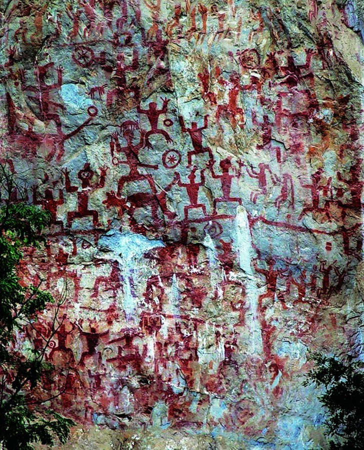 Zuojiang Huashan Rock Art Cultural Landscape: Part of NingmingHuashan Rock Art